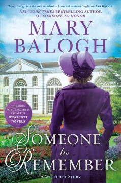 Someone to Remember - Mary Balogh