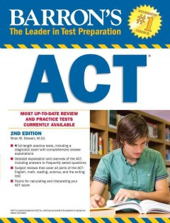 Cover image for Barron's ACT
