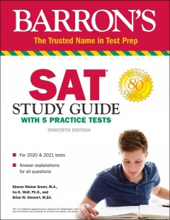 Cover image for Barron's SAT : study guide