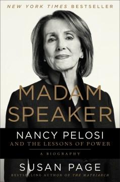 Madam Speaker - Susan Page