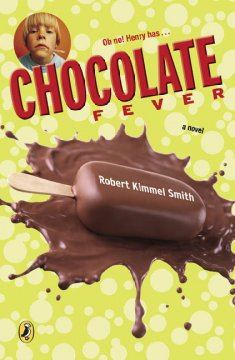 Bookjacket for  Chocolate Fever