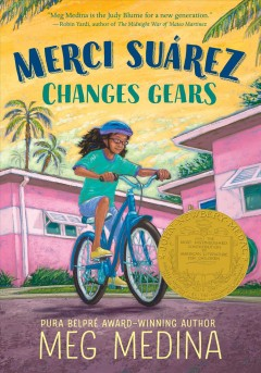 Bookjacket for  Merci Suarez Changes Gears