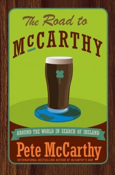 Bookjacket for The road to McCarthy