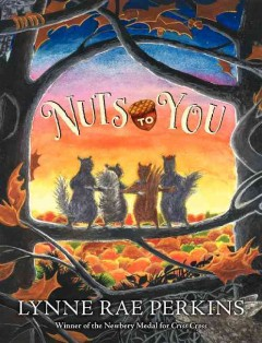 Bookjacket for  Nuts to You