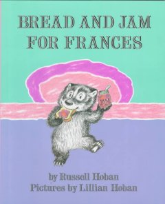Bookjacket for  Bread and Jam for Frances