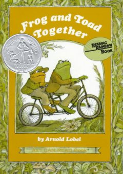 Bookjacket for  Frog and Toad Together