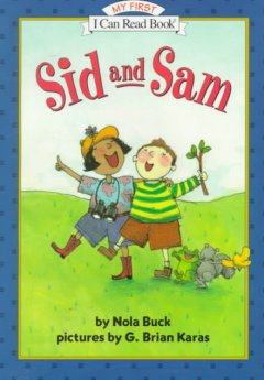 Bookjacket for  Sid and Sam