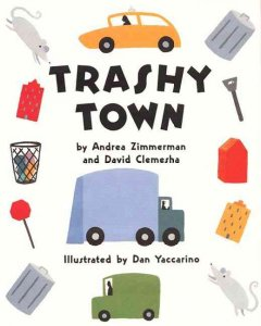 Bookjacket for  Trashy Town