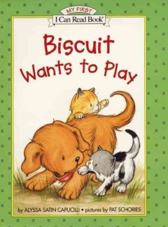 Bookjacket for  Biscuit wants to play