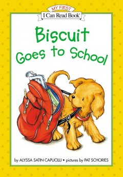 Bookjacket for  Biscuit goes to school