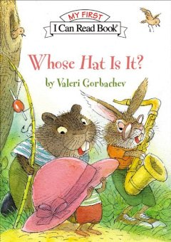 Bookjacket for  Whose hat is it?