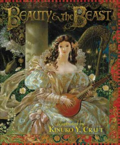 Bookjacket for  Beauty & the beast
