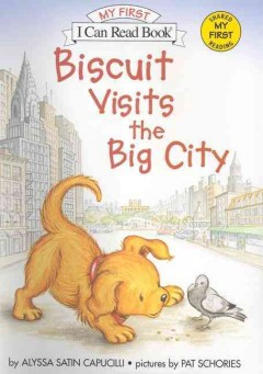 Bookjacket for  Biscuit visits the big city