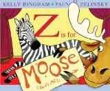 Bookjacket for  Z is for Moose