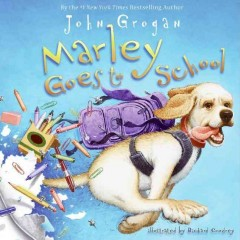 Bookjacket for  Marley goes to school
