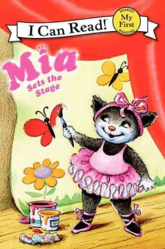 Bookjacket for  Mia sets the stage