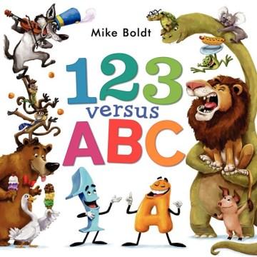Bookjacket for  123 versus ABC