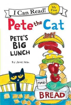 Bookjacket for  Pete the cat
