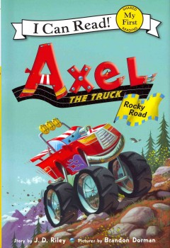 Bookjacket for  Axel the truck