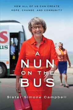 bookjacket for A nun on the bus