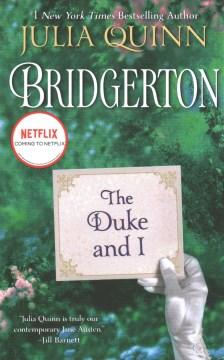 Bookjacket for The Duke and I