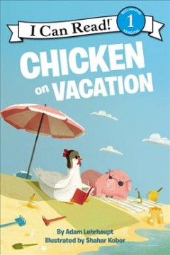 Bookjacket for  Chicken on vacation