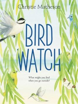 Bookjacket for  Bird watch