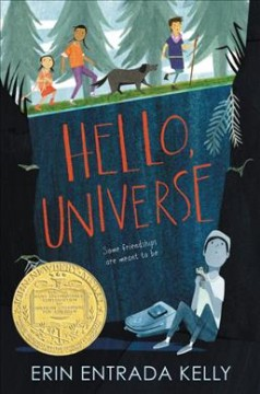 Bookjacket for  Hello universe