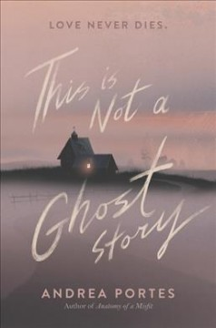 bookjacket for This is not a ghost story