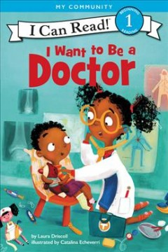 Bookjacket for  I want to be a doctor