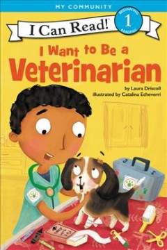 Bookjacket for  I want to be a veterinarian