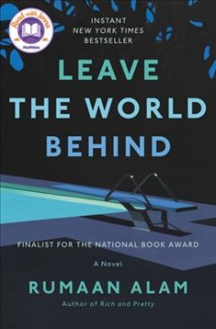 Bookjacket for  Leave the world behind