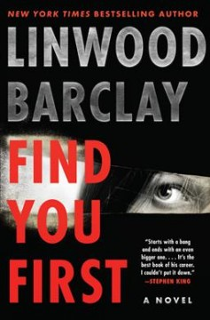 Bookjacket for  Find you first