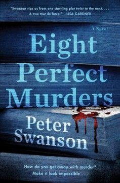 Bookjacket for  Eight perfect murders