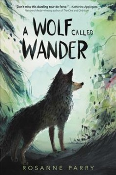 Bookjacket for A Wolf called Wander