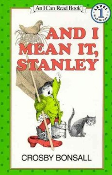 Bookjacket for  And I mean it, Stanley