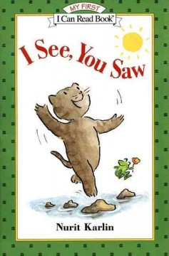 Bookjacket for  I see, you saw