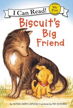 Bookjacket for  Biscuit's big friend