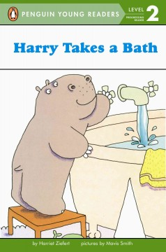 Bookjacket for  Harry takes a bath