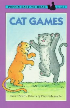 Bookjacket for  Cat games
