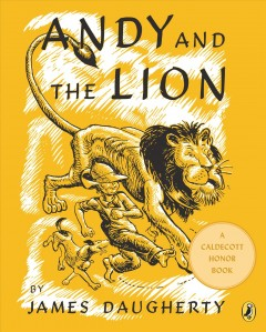 Bookjacket for  Andy and the Lion