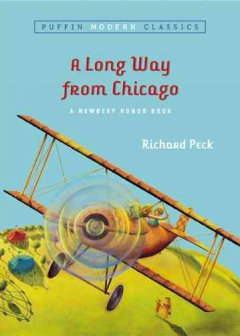 Bookjacket for A Long Way from Chicago