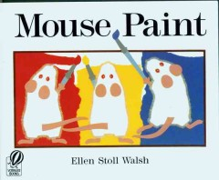Bookjacket for  Mouse Paint