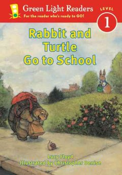 Bookjacket for  Rabbit and turtle go to school
