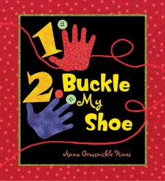 Bookjacket for  1, 2, Buckle My Shoe