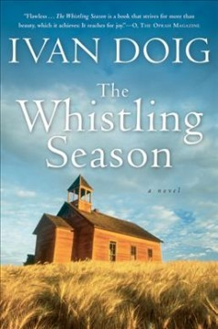 Bookjacket for The whistling season