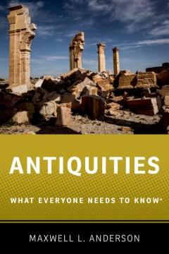 bookjacket for Antiquities