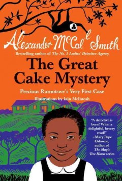Bookjacket for The Great Cake Mystery