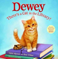 Bookjacket for  Dewey: There's a Cat in the Library