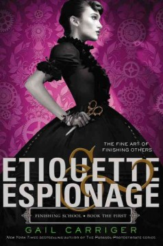 Bookjacket for  Etiquette & Espionage